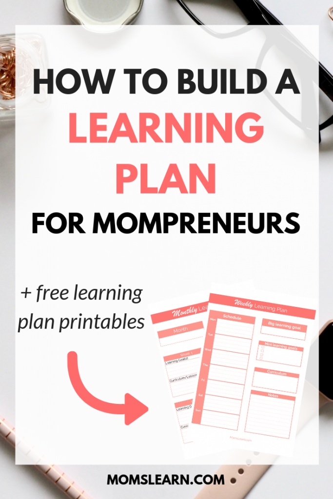How to build a learning plan